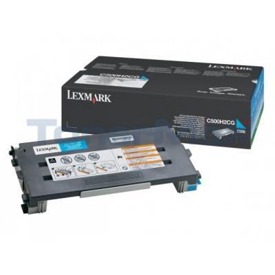 LEXMARK X500 X502 TONER CARTRIDGE CYAN 3K